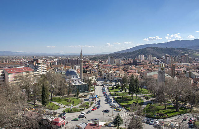 Panoramic view of the city of Bitola