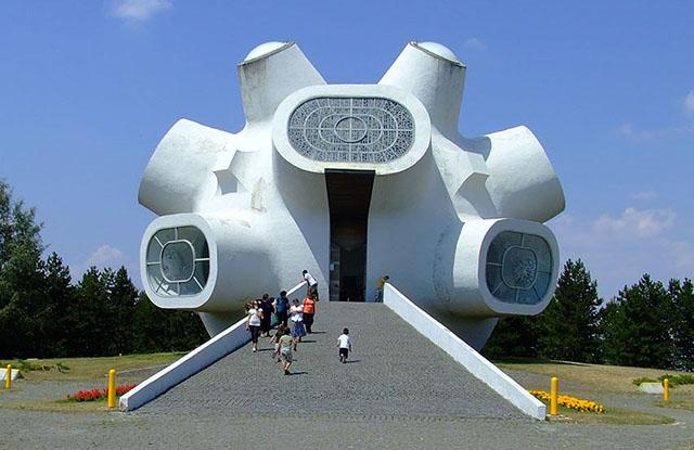The Ilinden Monument in Krusevo