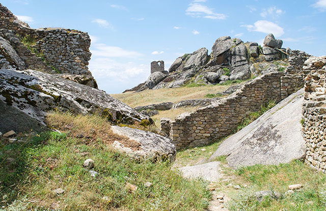 Markovi Kuli, tourist attraction made of ruins in Prilep