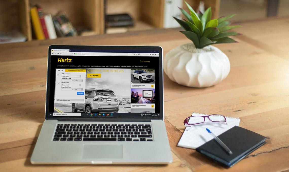 Hertz Macedonia online reservation