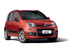Rental car model FIAT PANDA, Hertz, Macedonia