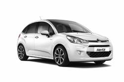 Rental car model CITROEN C3, Hertz, Macedonia