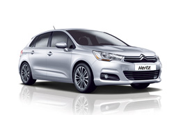 Rental car model CITROEN C4, Hertz, Macedonia
