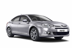 Rental car model CITROEN C5, Hertz, Macedonia