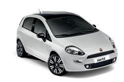 Rental car model FIAT PUNTO, Hertz, Macedonia